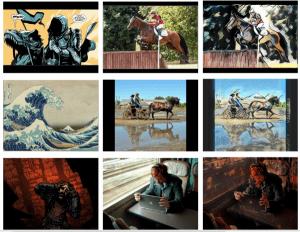 خوارزميات تستطيع تحويل أية لقطة إلى مشهد يشبه القصص المصورة
