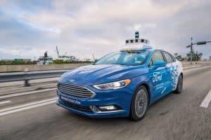 شركة فورد تنوي إطلاق أسطول من آلاف السيارات ذاتية القيادة في عام 2021