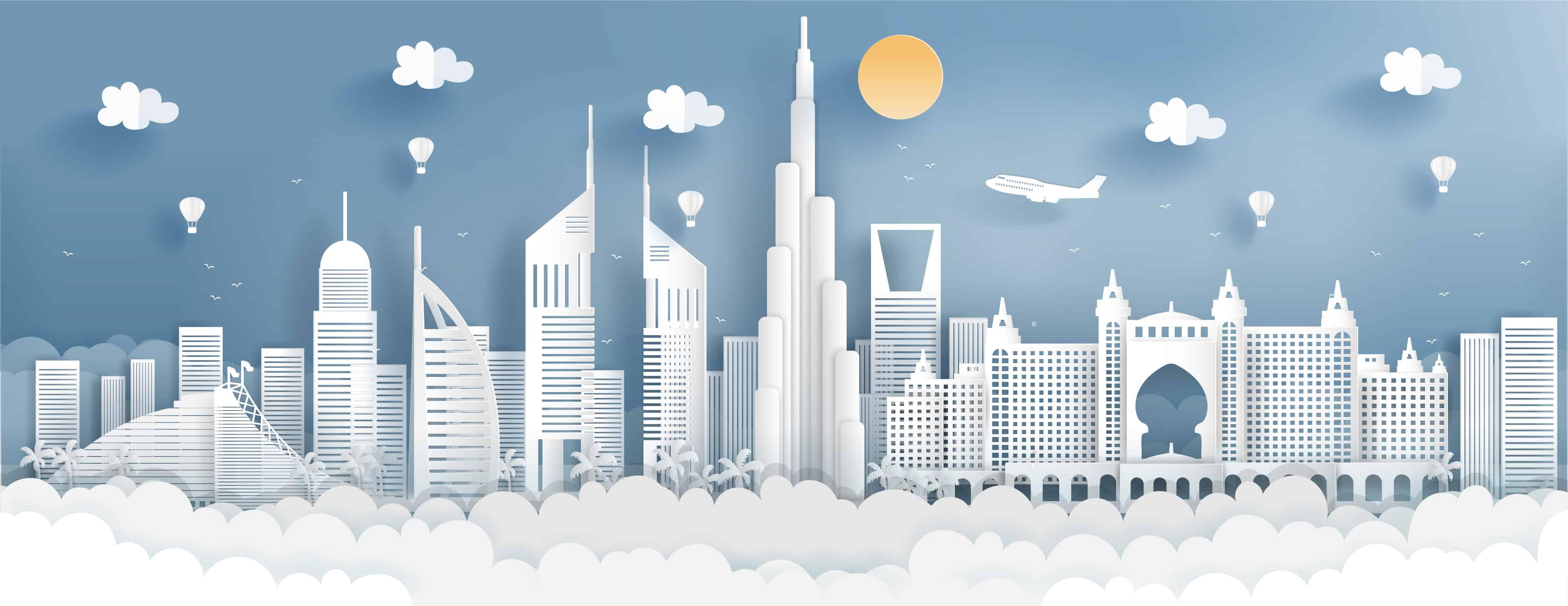 ما هي استراتيجية دبي للمعاملات اللاورقية؟