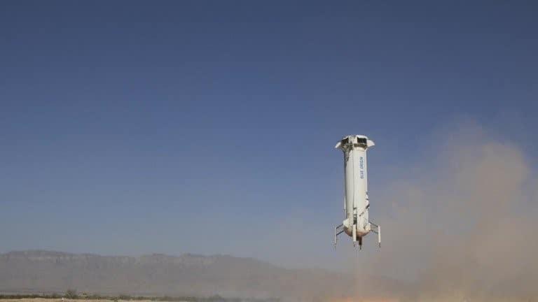 ما رأيك في رحلة سياحية إلى الفضاء؟ بلو أوريجين تقترب من تحقيق ذلك