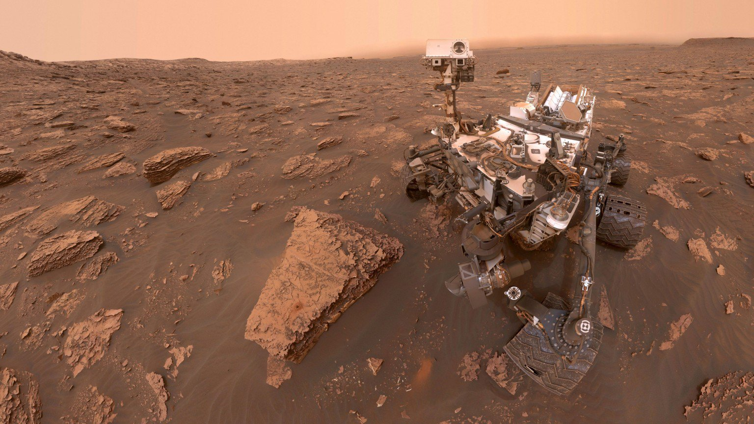 هل رصدت كیوریوسیتي دلیلاً جديداً لوجود حیاة على المريخ؟