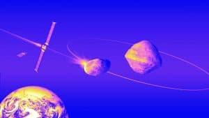 هل يمكن تحويل مسار كويكب يتجه نحونا عن طريق صدمه بمركبة فضائية؟