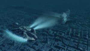 هل هناك أية تكنولوجيات واقعية للطيران الفضائي من أفلام حرب النجوم؟