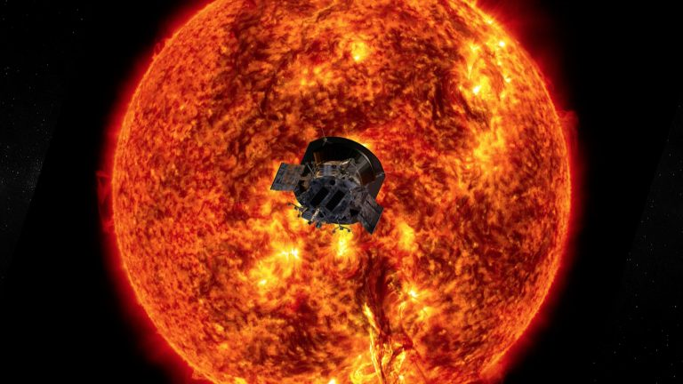 المسبار الشمسي باركر يبين لنا أصل الرياح الشمسية بعد الاقتراب من الشمس إلى حد غير مسبوق