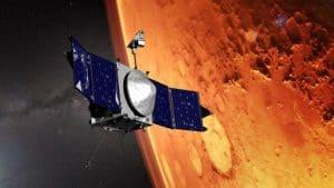 مسبار فضائي يقوم بمسح الرياح فوق المريخ للمرة الأولى