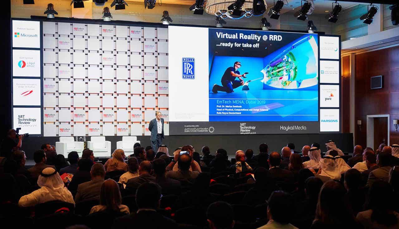 مستقبل الواقع الافتراضي على طاولة البحث في إيمتيك مينا