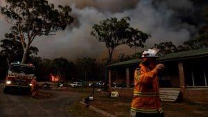 التغير المناخي يؤدي بالفعل إلى اشتداد حرائق أستراليا