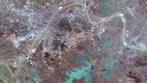 صور الأقمار الاصطناعية تُظهر الشلل الذي أصاب ووهان بسبب فيروس كورونا