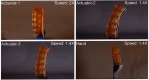 هذه اليد الروبوتية اللينة تستطيع إفراز العرق لتبريد نفسها