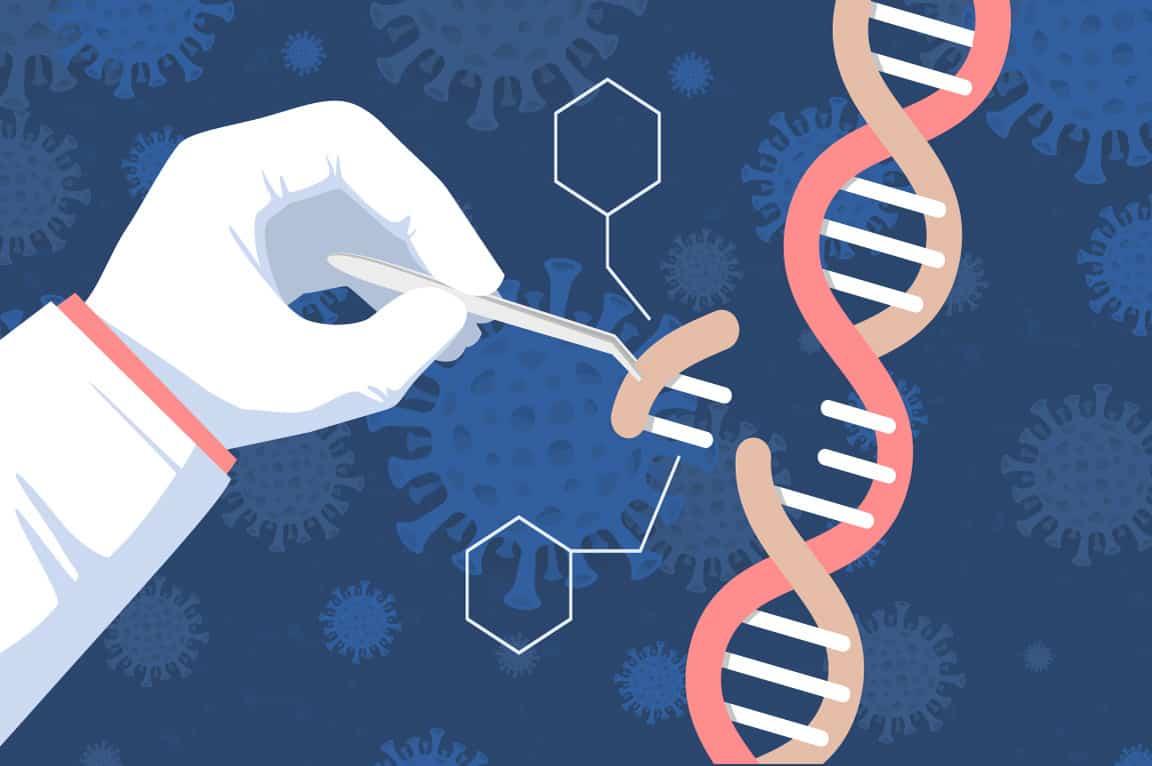 تقنية كريسبر تحطم التسلسل الجينومي لفيروس كورونا