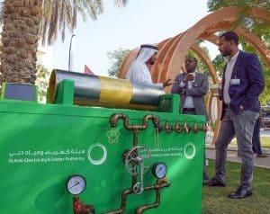 هيئة كهرباء ومياه دبي تستعرض باقة من مشاريعها ومشاريع المعنيين المبتكرة خلال