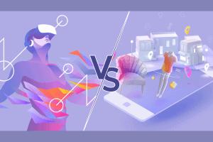 ما الفرق بين الواقع الافتراضي والواقع المعزز؟
