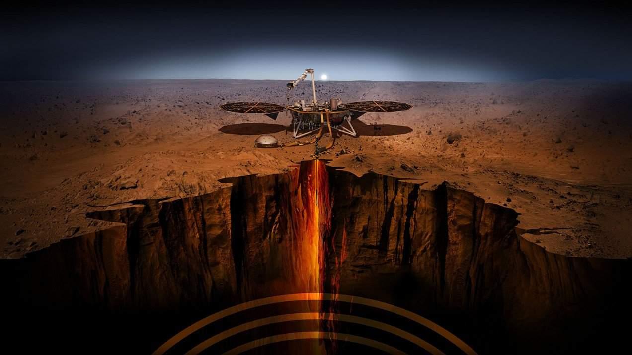 بعثة إنسايت من ناسا تثبت أن المريخ يتعرض للمئات من الزلازل