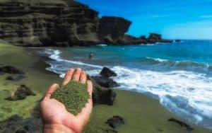 هل ينجح الرمل الأخضر في التقاط ثاني أكسيد الكربون ومواجهة التغير المناخي؟
