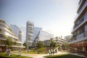 نِت سيتي: مدينة مستقبلية خالية من السيارات على أطراف مدينة شينزين