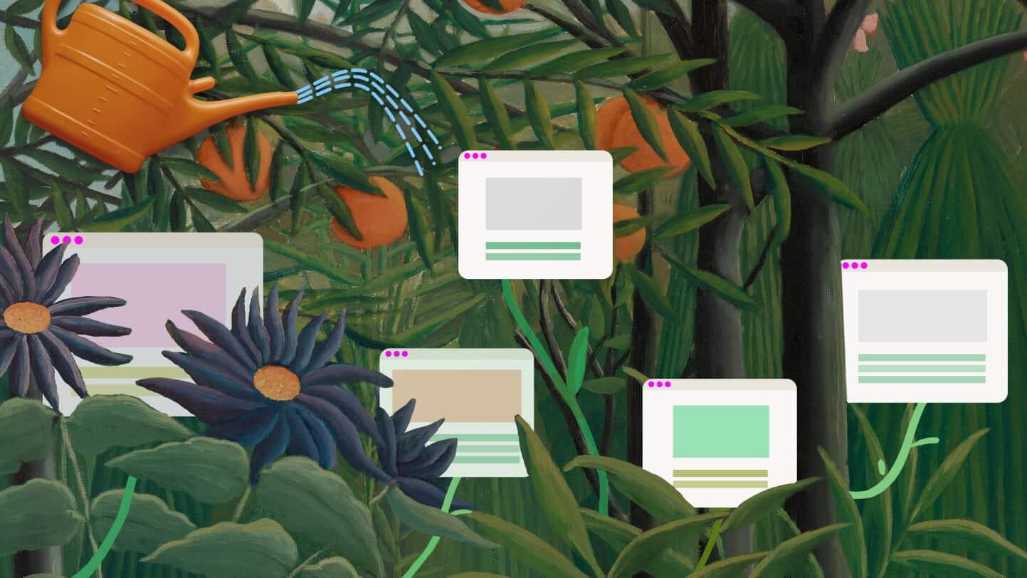 الحدائق الرقمية تتيح لك تطوير مساحتك الصغيرة الخاصة على الإنترنت