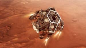 عربة بيرسيفيرانس الجوالة التابعة لناسا توشك على بدء البحث عن الحياة على المريخ