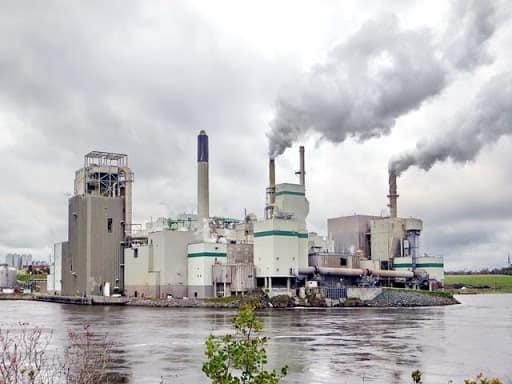 تصاعد غاز ثاني أكسيد الكربون