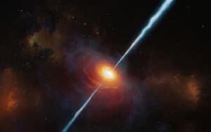 أدلة تسوقها نفثات بعيدة: كيف تكتسب الثقوب السوداء حجومها الهائلة