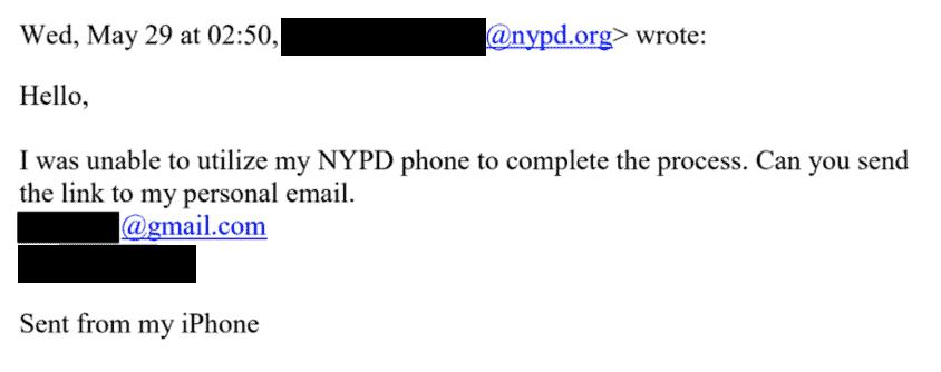 شرطة نيويورك تستخدم نظام كليرفيو إيه