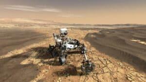 عربة ناسا الجوالة بيرسيفيرانس تنتج الأكسجين النقي على المريخ