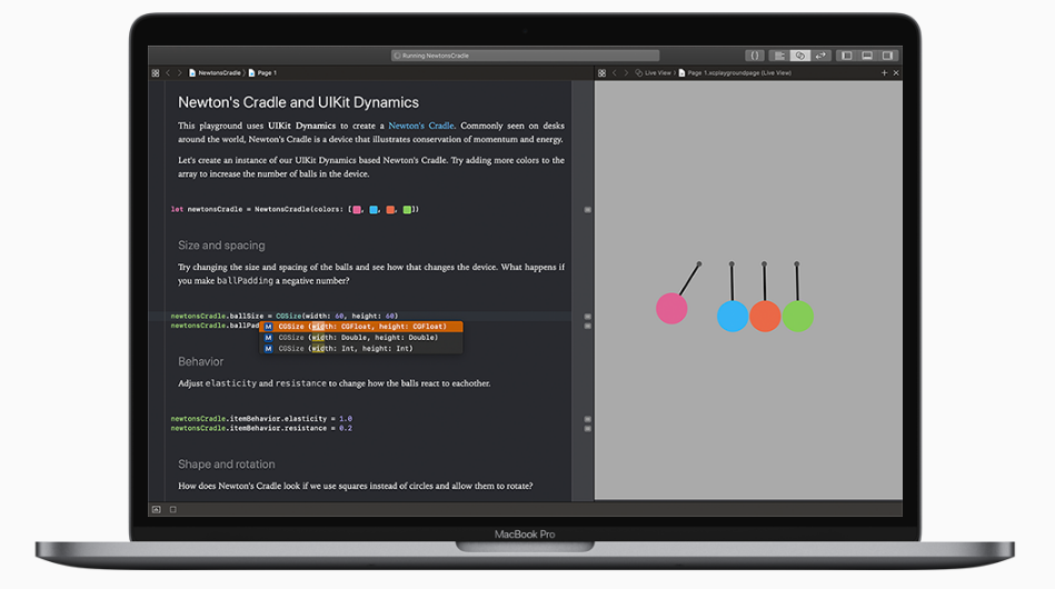 تطوير التطبيقات باستخدام لغة سويفت