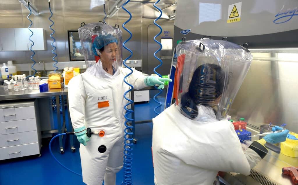 صورة من داخل معهد ووهان لعلوم الفيروسات