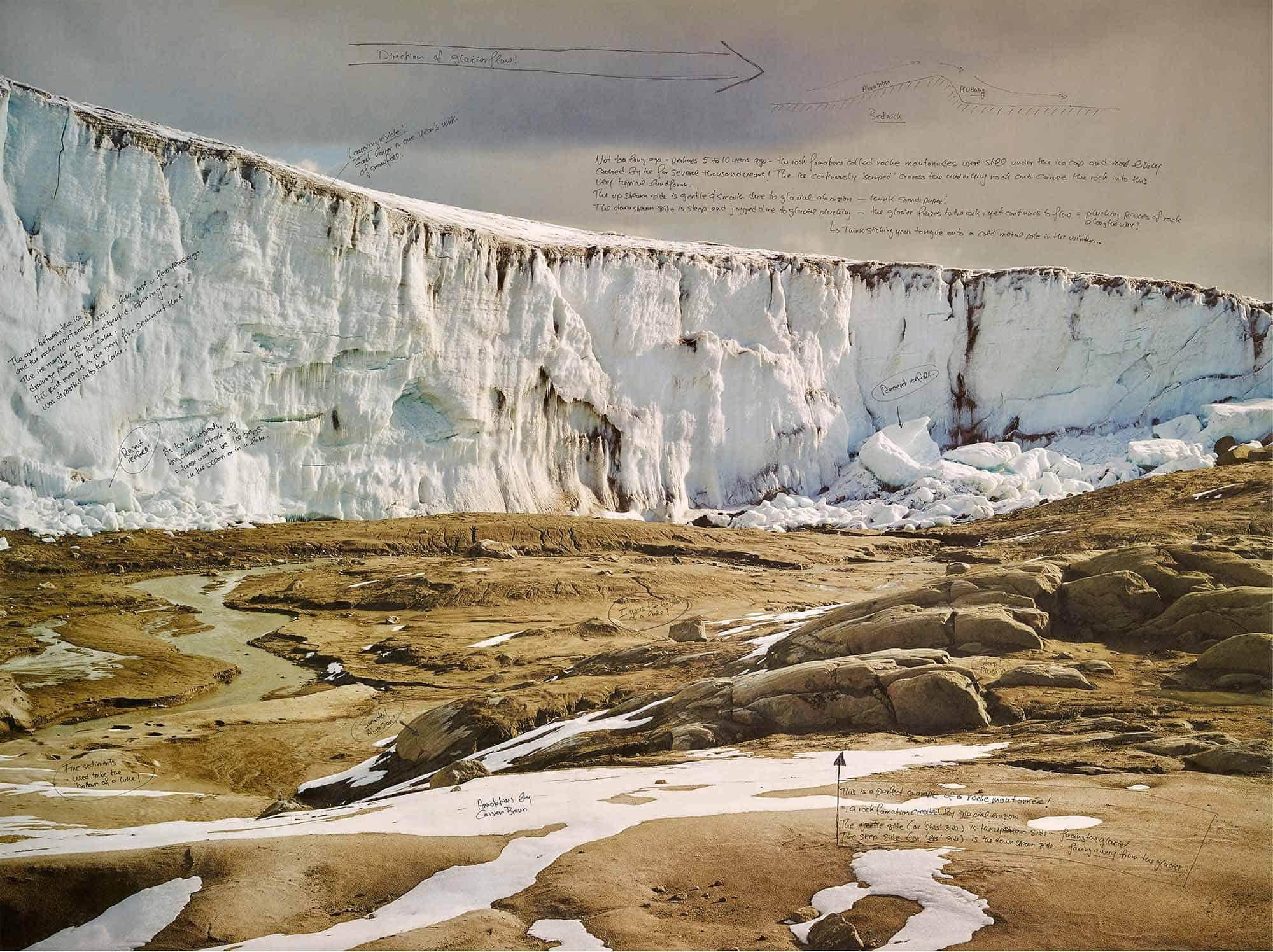 التغير المناخي يخترق الزمن الجيولوجي