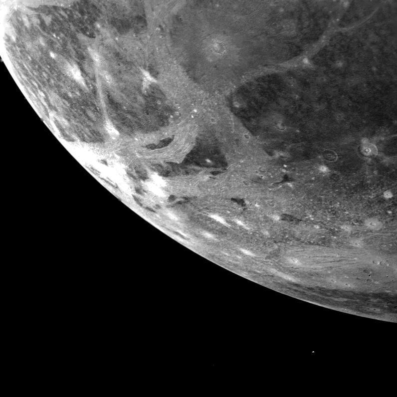 الحياة الفضائية في النظام الشمسي - جانيميد