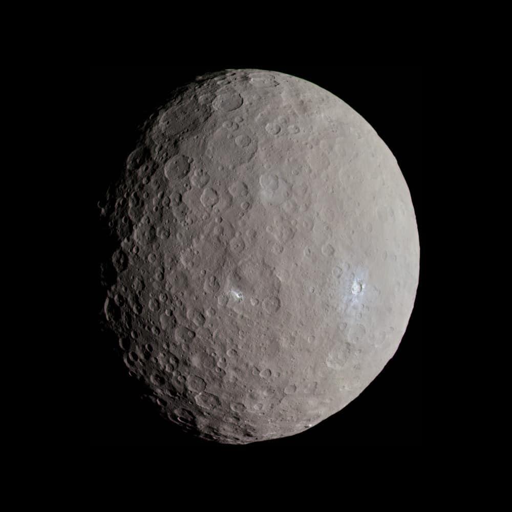 الحياة الفضائية في النظام الشمسي - سيريس
