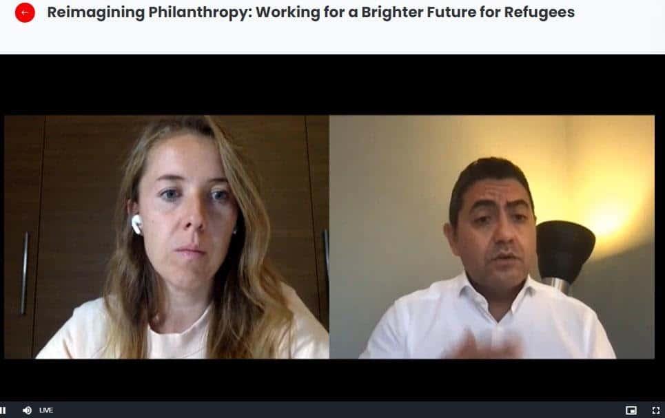 العمل الخيري ومستقبل اللاجئين